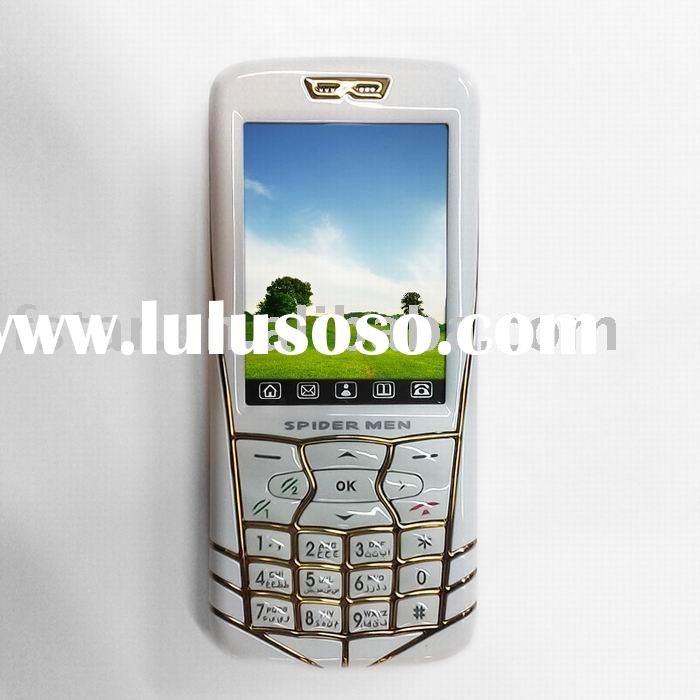 """GSM mobile phone+4 band frequency+Dual sim card and dual standby+2.4""""touch screen+2 Mega Camera"""