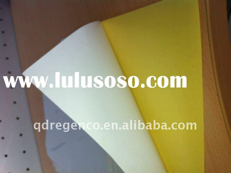 Gloss mirror coated self adhesive(sticker paper)