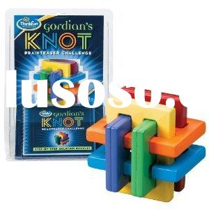 Gordian's Knot Puzzle Game Brain Teaser Take Apart Building Blocks Puzzle Luban Lock