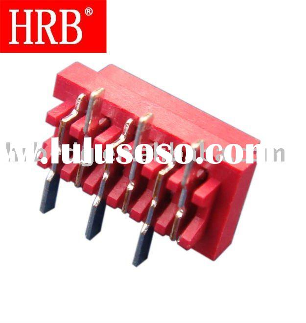 "HRB 1.27mm (0.050"") pitch dual row 18 pin PCB connector"