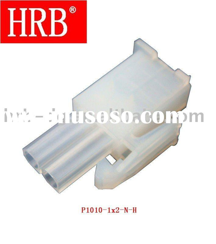 """HRB 4.14mm (0.163"""") pitch single row 2 pin male connector housing"""