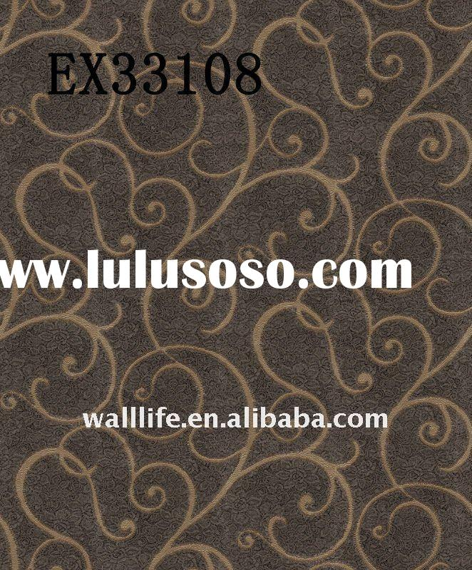 Heavy Vinyl Wallpaper/wall papers home decor-----EXCLUSIVE STYLE