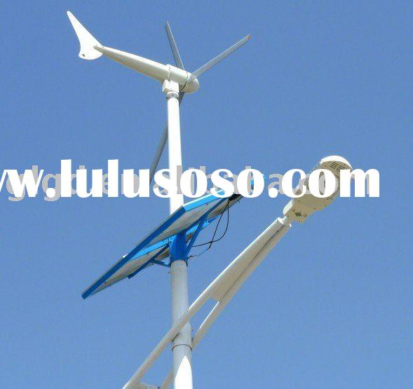 Hebei Green 300-5000W hybrid solar wind power generator