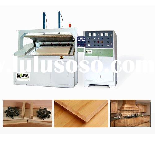 High frequency side laminate press