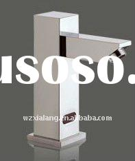 High quality square solid brass heavy sense faucet