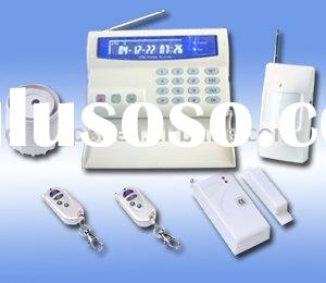 Home GSM Alarm Security System monitored alarms
