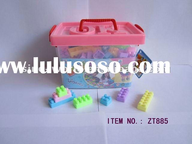 Hot educational funny plastic block/bricks toy