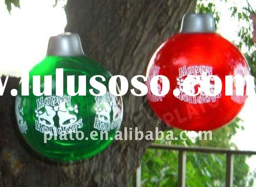 large inflatable christmas ornaments
