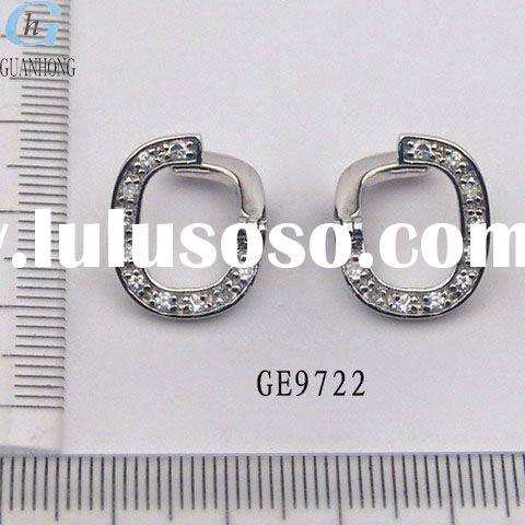 Hot sale newest sterling silver earrings wholesale