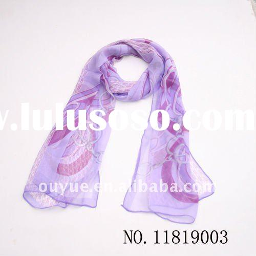 Hot-sell fashion ladies summer scarf 2012