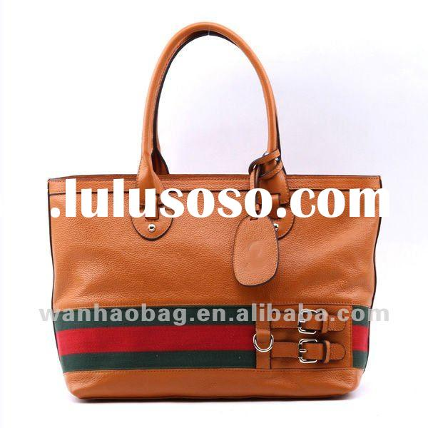 Hottest ,Newest fashion trendy brand women handbag Tote leather bags,257085