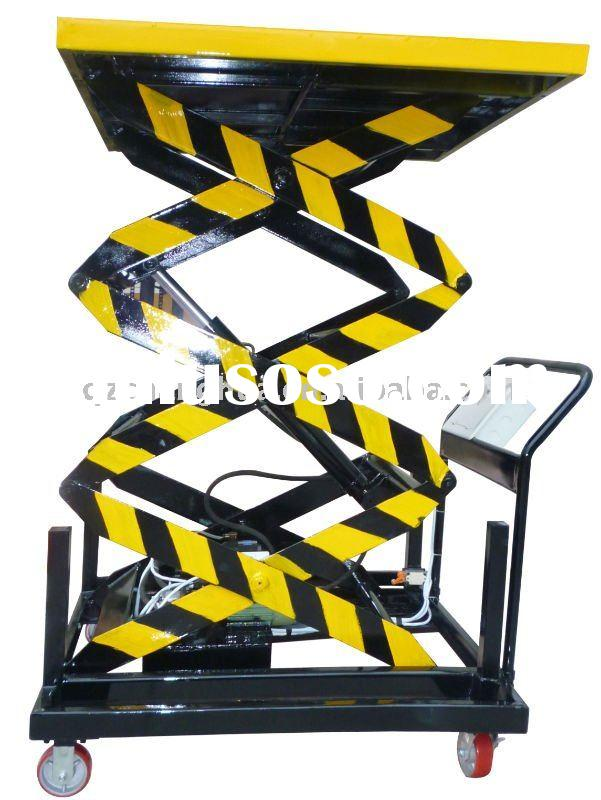Hydraulic Mobile electric Lift table / Lifting Platform