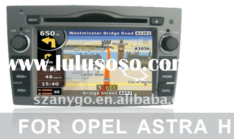 In-car Entertainment System for Opel Astra H with DVD GPS, BLUETOOTH , IPOD, TOUCH SCREEN, STEERING