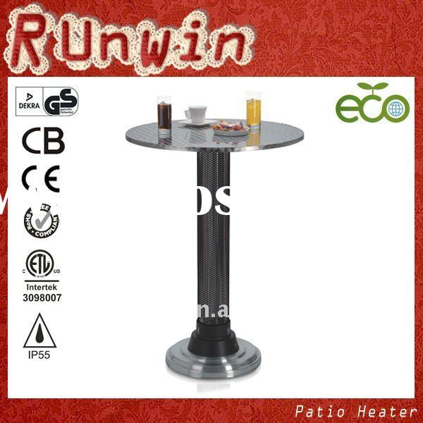 Infrared Energy Saver Device Carbon Fiber Electric Outdoor Orchard Patio Heater With Table