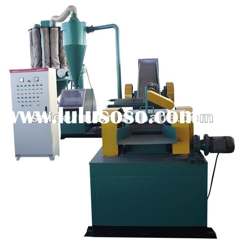 Insulated wire recycling Machine,pvc-copper cable recycling plant, cable granulator and separator