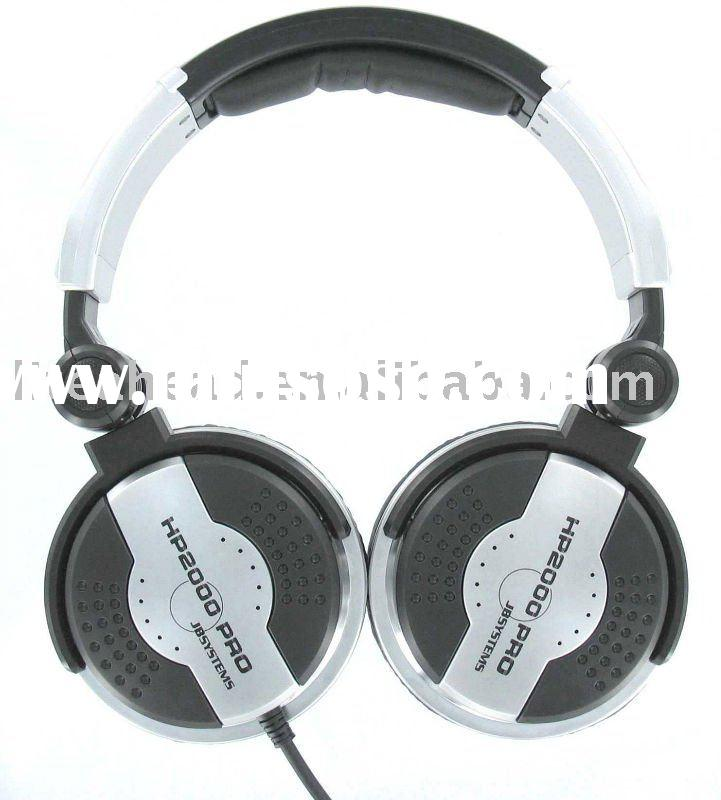 JBSYSTEMS HP2000 Noise Cancelling Headphone With 3500mW Output High Power