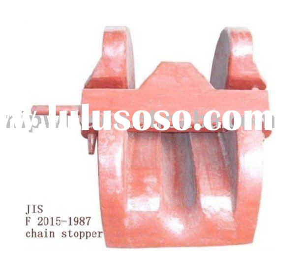 JIS F-2015 cast steel bar type chain cable stopper