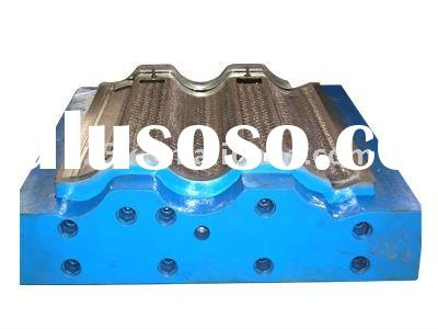 JS-128 color cement roof tile forming machines