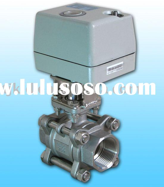 KLD400 2-way Motorized Ball Valve(stainless steel) for automatic control,water treatment, process co