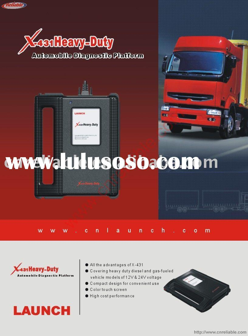 Launch X-431 Heavy duty for Truck of Benz/Cummins/Iveco/Mack/Volvo/Isuzu/ OBD, Truck scan tool,