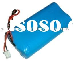 Li-ion battery pack for flashlight, electronic machine, laptop
