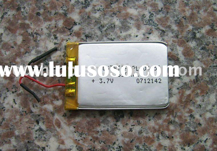 Lithium ion rechargeable battery 3.7V 650mAH