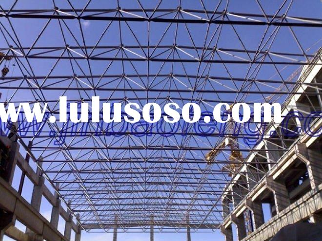 Low cost stainless steel space frame