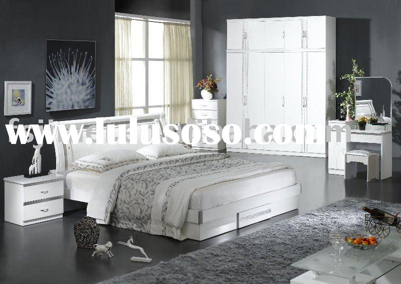 Bedroom Furniture White High Gloss glossy white bedroom furniture vivo furniture. black and white