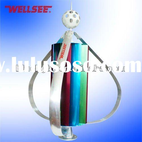 Magnetic levitation vertical wind turbine Wellsee WS-WT 300W (cellular small cellular wind turbine)