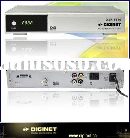 Manufactory Low price SD DVB-S MPEG2 FTA Receiver Set Top Box