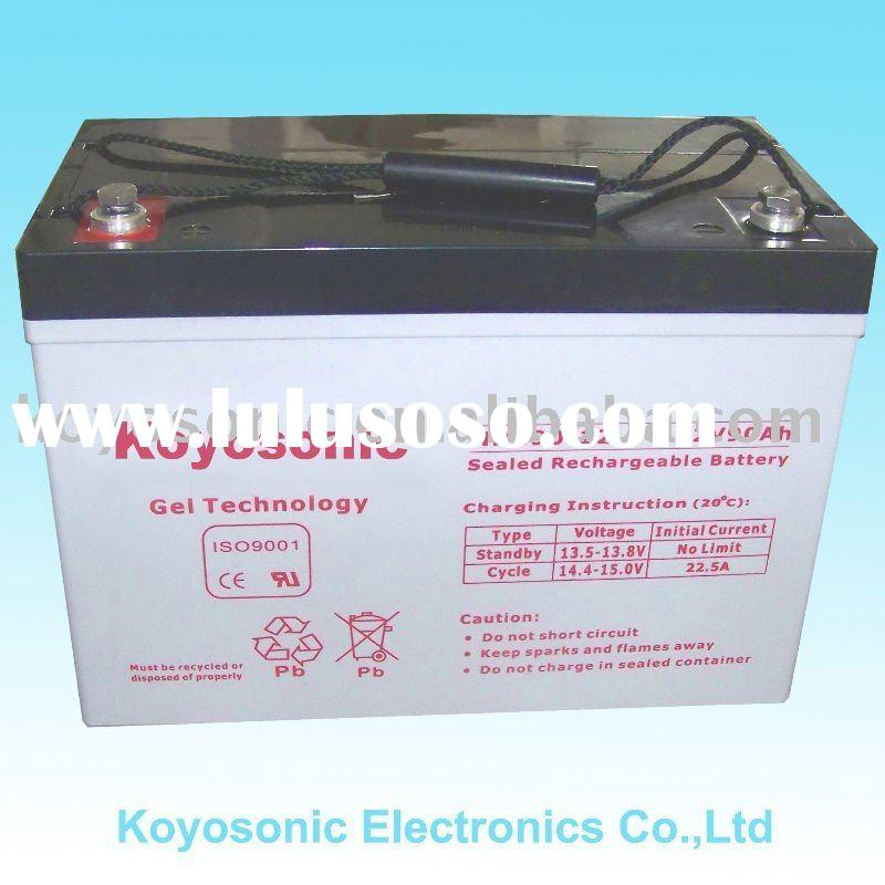 Manufacturing High Quality 12V Sealed Maintenance Free Lead Acid Gel Battery with AGM Technology-12V