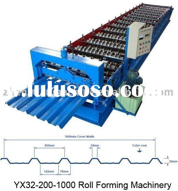 Metal sheet machine,roof sheet forming machine,roof panel roller line