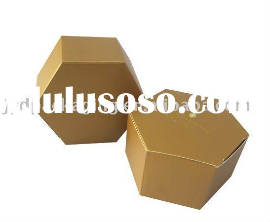 Mooncake Paper Box/Hexagon Food Packaging Box