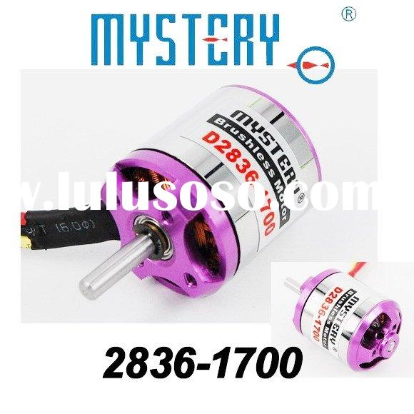 Mystery 1700KV Outrunner Brushless Motor for RC helicopter,2836-1700