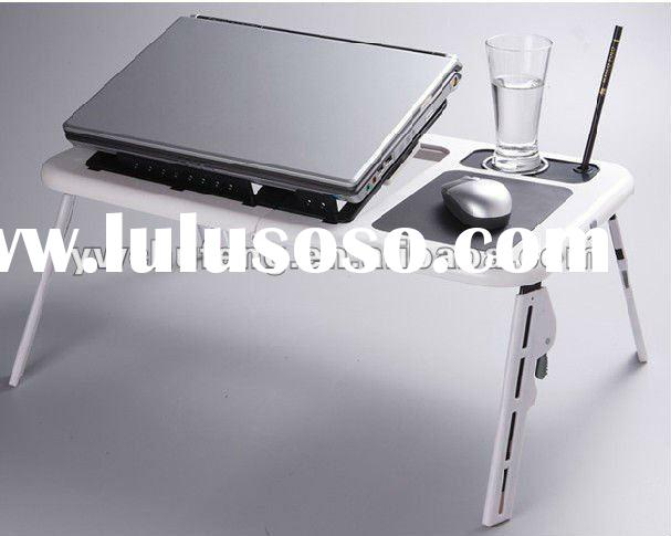 New Laptop USB Folding Table w/2 Cooling Fan