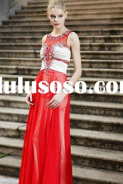New arrival red wedding bridal dress bridesmaid gowns C80166