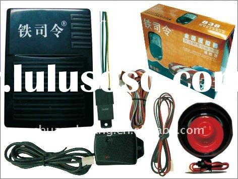 New technology,automatic phonetic warning with ultrasonic sensor one way car alarm