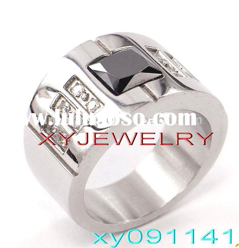 Newest Style Fashion Stainless Steel Jewelry Rings