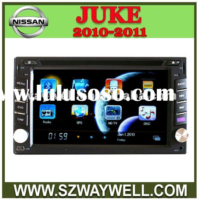 Nissan JUKE 2010-2011 car audio player with dvd radio tuner