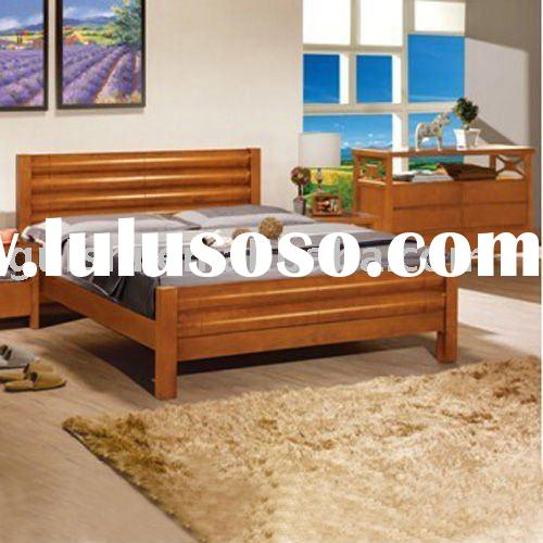 No.C33 Modern Chinese Oak Solid Wood Bedroom Furniture