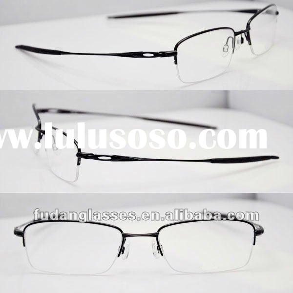 OK OX3133-0253 Polished Black stylish glasses frame for men glasses frame titan optical frame