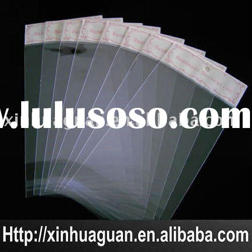 OPP envelop packaging bag attach adhesive