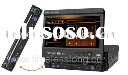 One Din 7 inch in dash all in one Car DVD Player