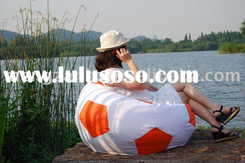 Outdoor furniture with football shaped made of polyester fabric could be used indoors and outdoors