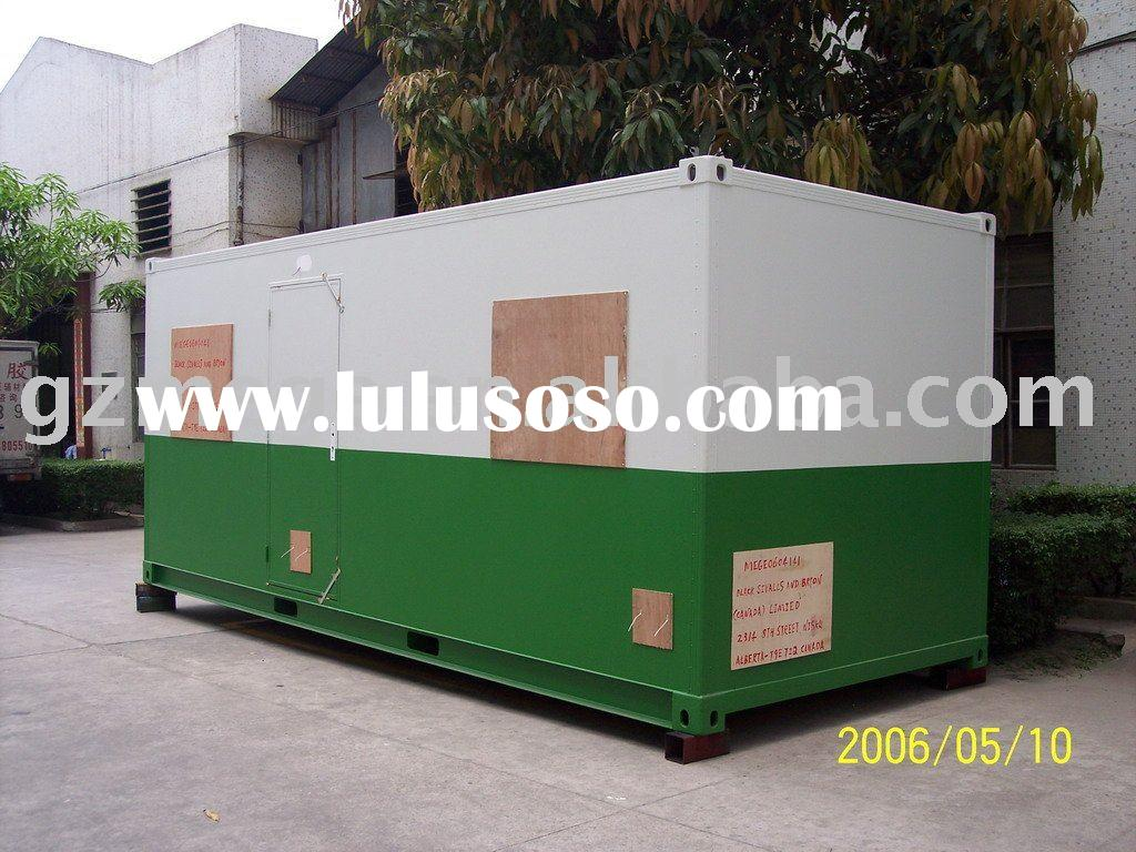 Prefab House -- Fiberglass Sandwich Panel Container House