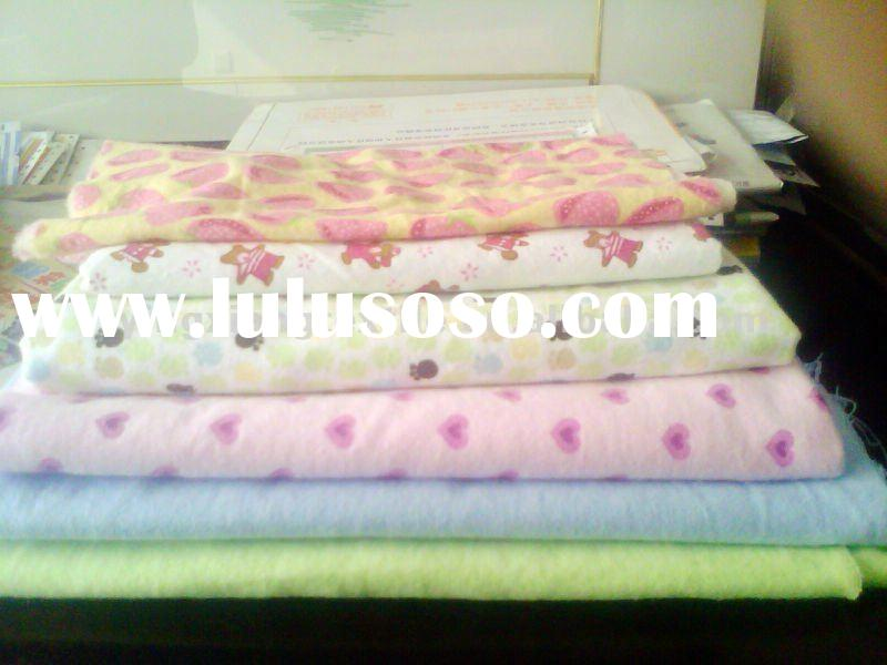 Printed, White, Dyed,100% Cotton Flannel, 100% Bamboo Flannel, 100% brushed cotton fabric for pajama