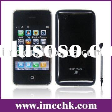 Quadband Dual SIM Card Bluetooth Java cdma phone (I9 3G)