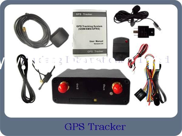 Real Time GSM/GPRS/GPS Vehicle Car Tracker
