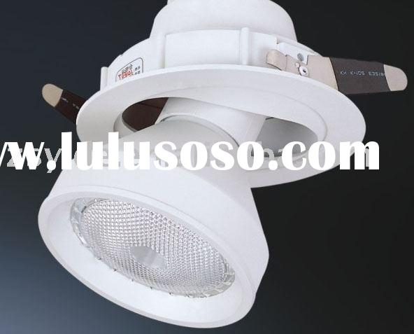 Recessed mounted lighting