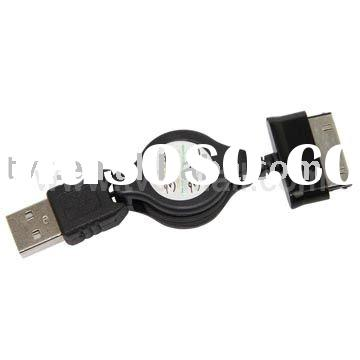 Retractable USB Data & Power Charger Cable for Samsung Galaxy Tab P1000